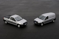 Dacia Van en Dacia Pick-up