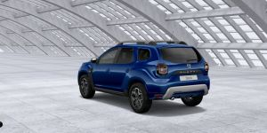 Dacia in Bleu Iron